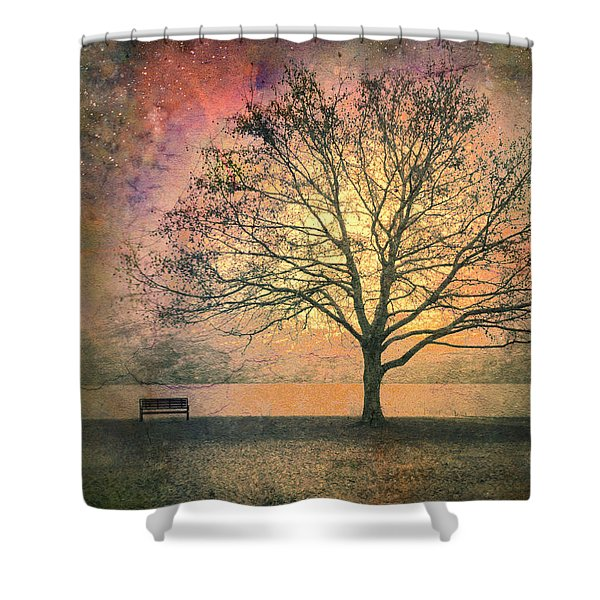 And The Morning Is Perfect In All Her Measured Wrinkles Shower Curtain