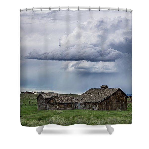 And Then The Rains Came Shower Curtain