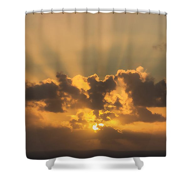 And Then There Was Day Five Shower Curtain