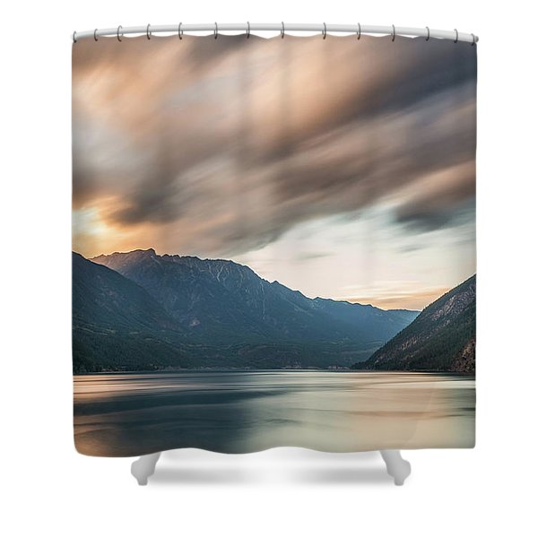 Anderson Lake Dreamscape Shower Curtain