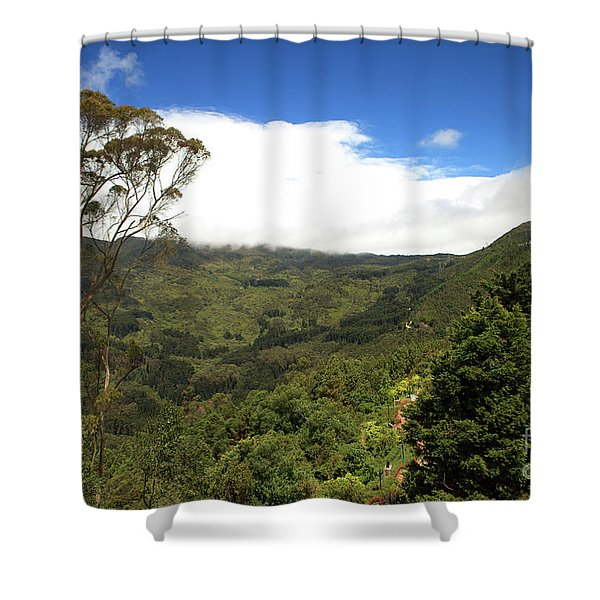 Andes Nature Shower Curtain