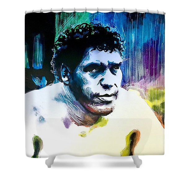 Andre The Giant Shower Curtain