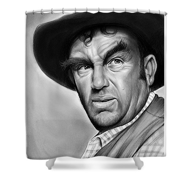 Andy Devine Shower Curtain