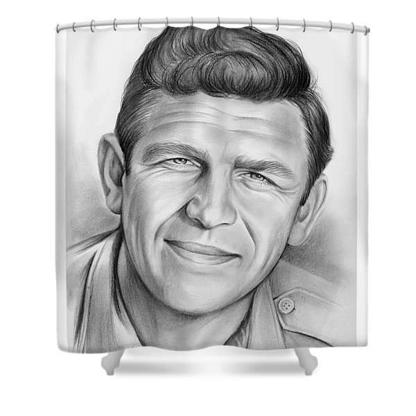 Andy Griffith Shower Curtain