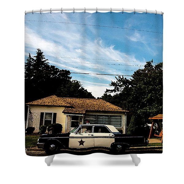 Andy's Home Shower Curtain