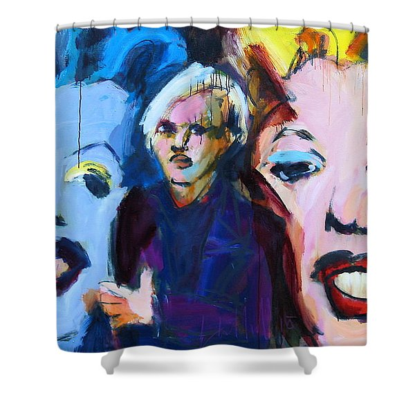 Andy's Monsters Shower Curtain