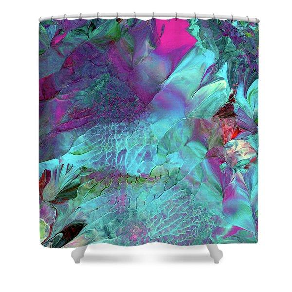 Angel Daphne Flowers #2 Shower Curtain