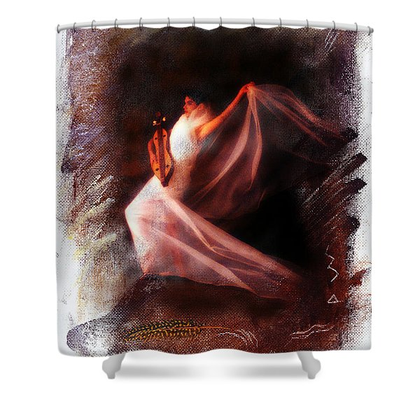 Ballet Angel Shower Curtain