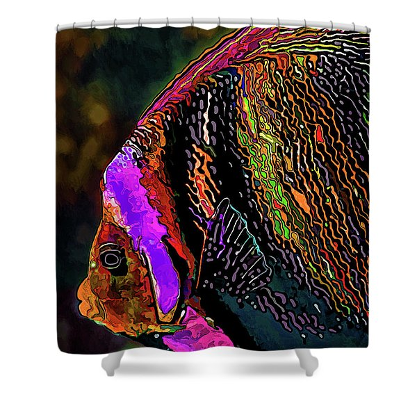 Angel Face 2 Shower Curtain