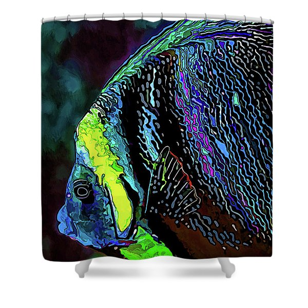 Angel Face 3 Shower Curtain