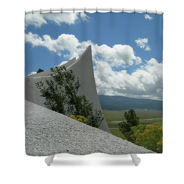 Angel Fire Shower Curtain