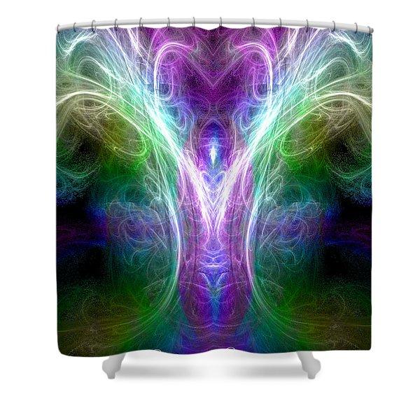 Angel Of Healing Shower Curtain