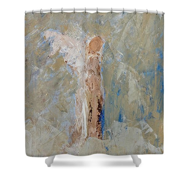 Angel Out Of Nowhere Shower Curtain
