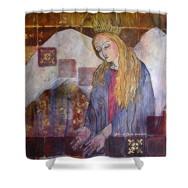 I Am Here - Seek Me Shower Curtain