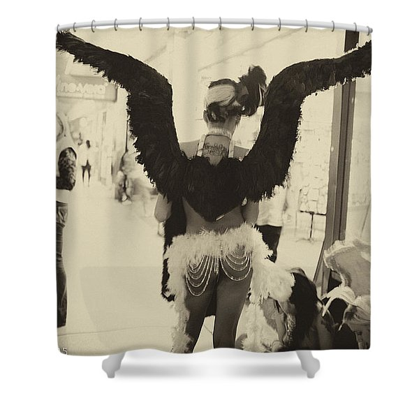 Angels Of Las Vegas Shower Curtain