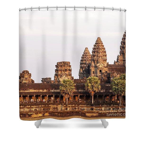 Angkor Wat 19 Shower Curtain