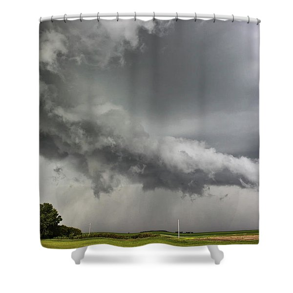 Angry Mode Shower Curtain