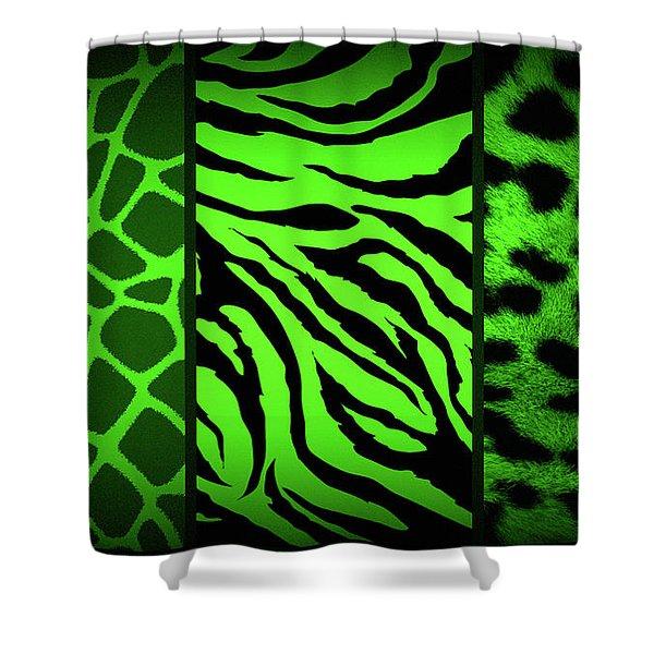 Animal Prints Shower Curtain