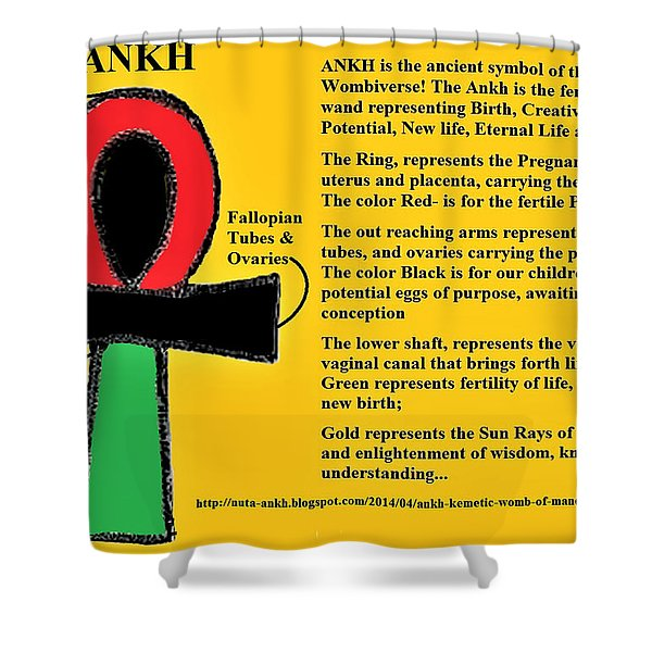 Ankh Meaning Shower Curtain