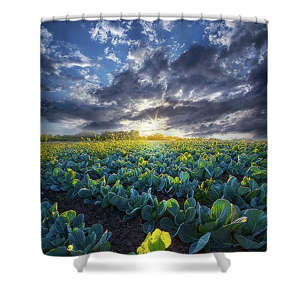 Ankle High In July Shower Curtain