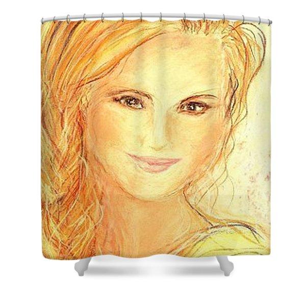 Anna Paquin Shower Curtain
