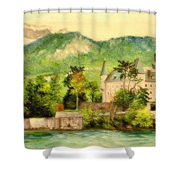 Annency Shower Curtain