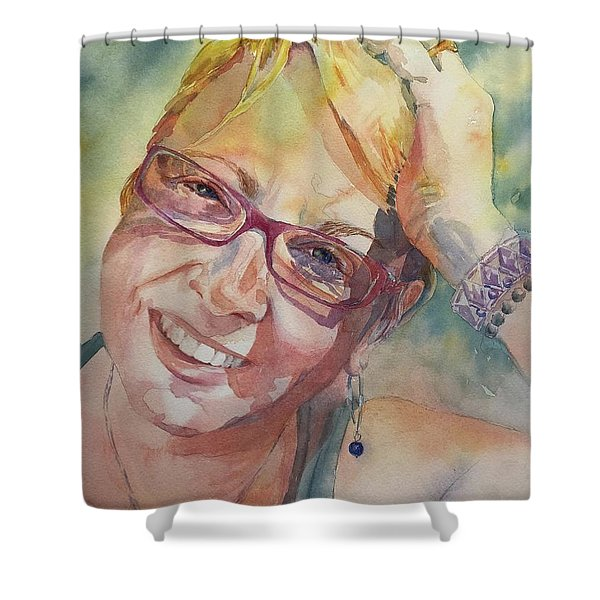 Annie Shower Curtain