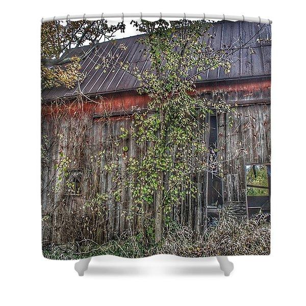0002 - Annie's Barn II Shower Curtain