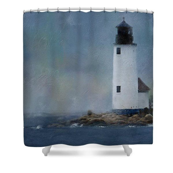 Anisquam Rain Shower Curtain