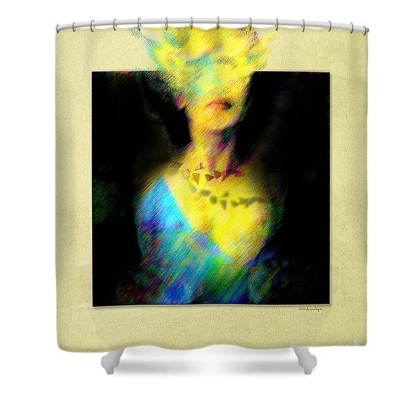 Anonymity Shower Curtain