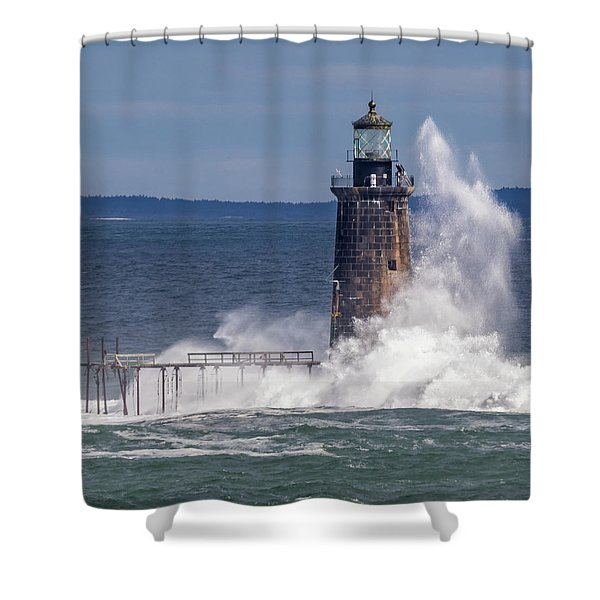 Another Day - Another Wave Shower Curtain