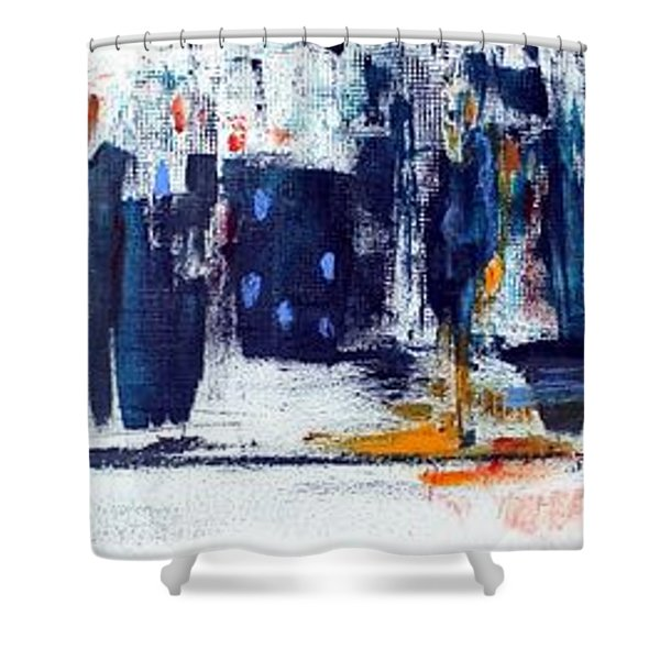 Another Day In New York City Shower Curtain