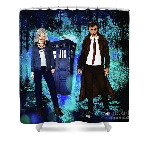 Another Unknown Adventure Shower Curtain