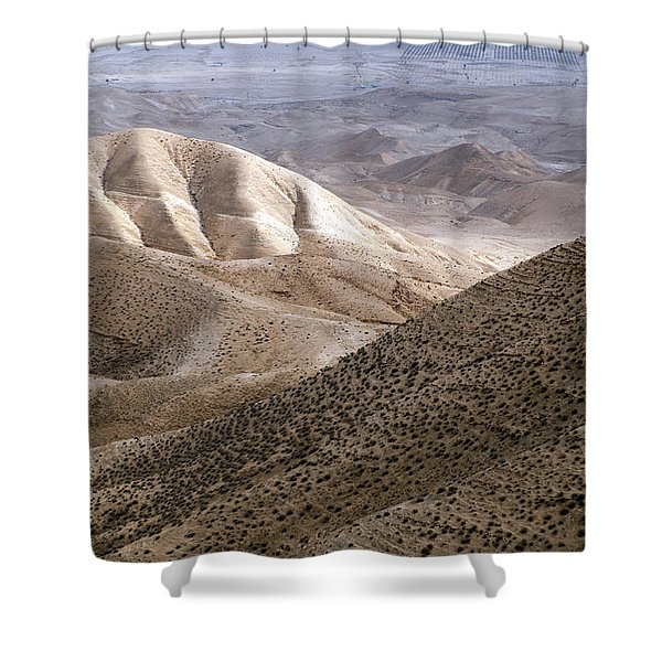 Another View From Masada Shower Curtain