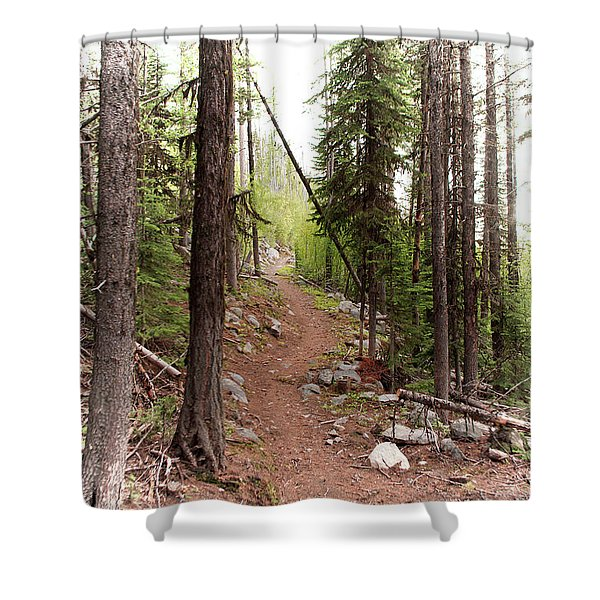 Another Way Shower Curtain