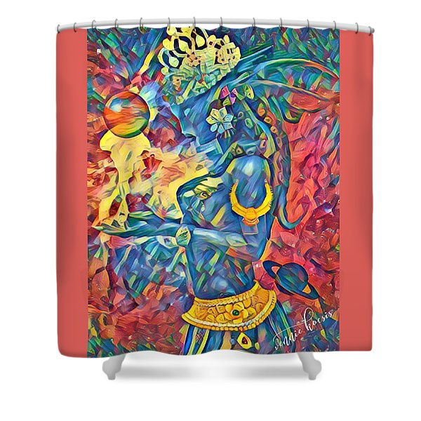 Answering The Call Shower Curtain