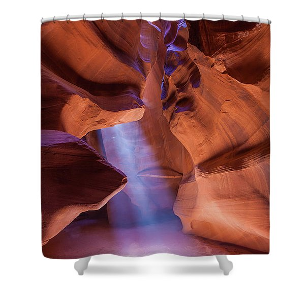 Antelope Lightshaft I Shower Curtain