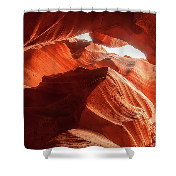 Antelope Canyon, Howling Wolf Shower Curtain
