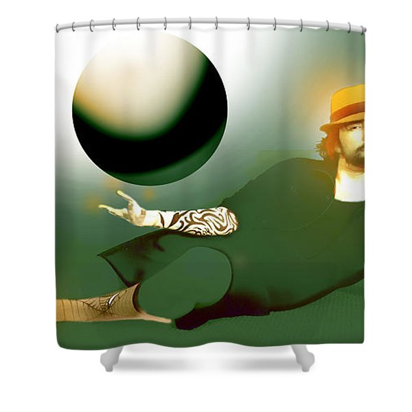 Anti Gravity Flight Shower Curtain