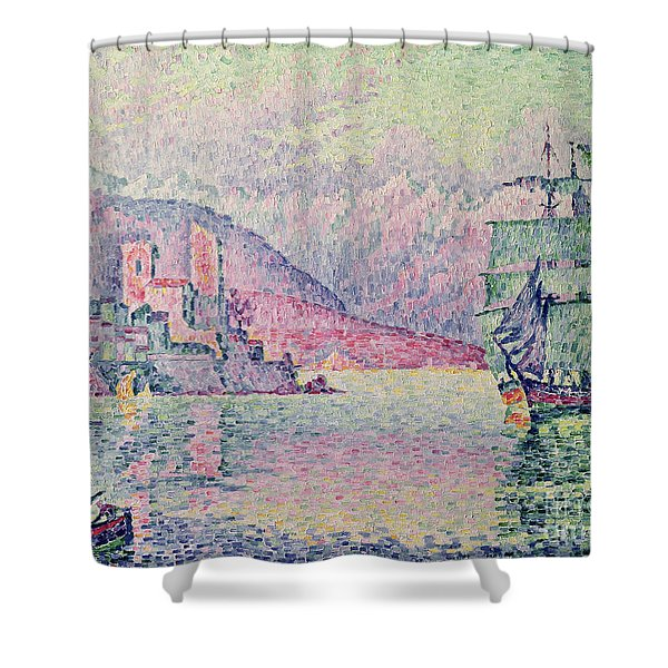 Antibes Shower Curtain