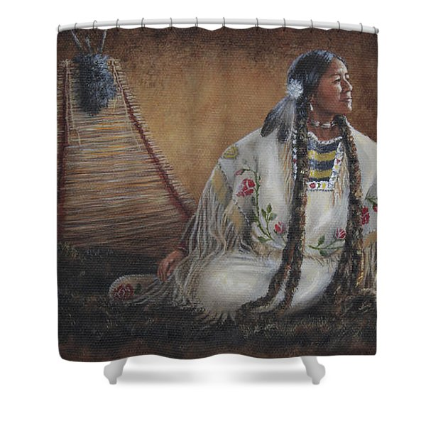Anticipation Shower Curtain