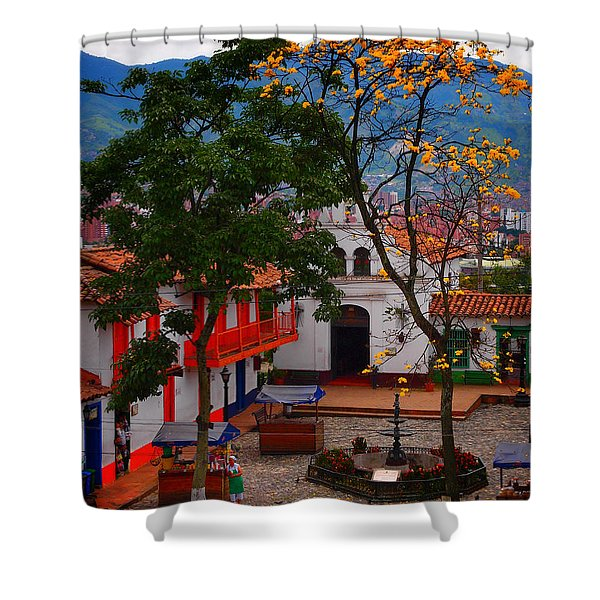 Antioquia Shower Curtain