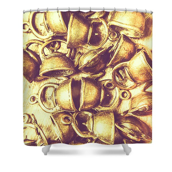 Antique Cafe Composition Shower Curtain