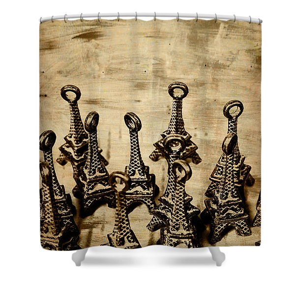Antiques Of France Shower Curtain