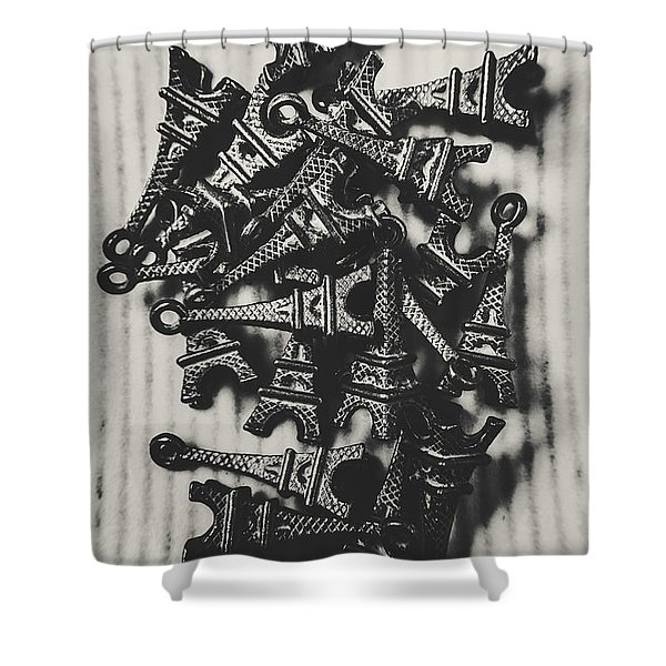 Antiquities In Architecture Shower Curtain