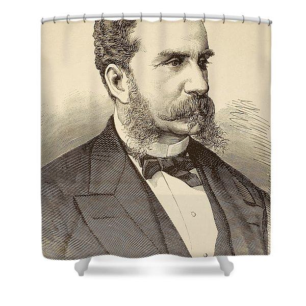 Antonio Gonz Lez De Aguilar Y Correa Shower Curtain