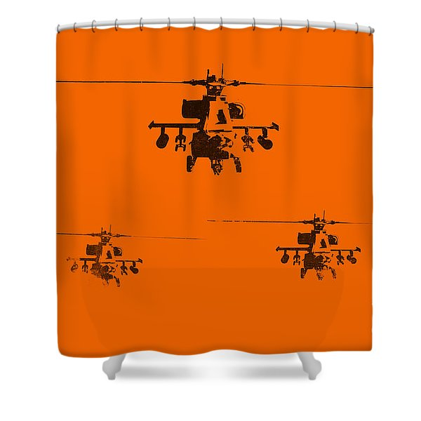Apache Dawn Shower Curtain