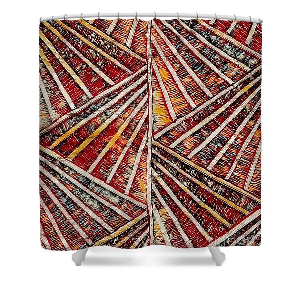 Apartment 12b Shower Curtain