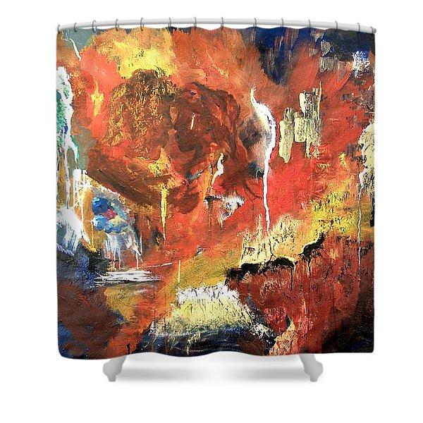 Apocalyptic Love Shower Curtain
