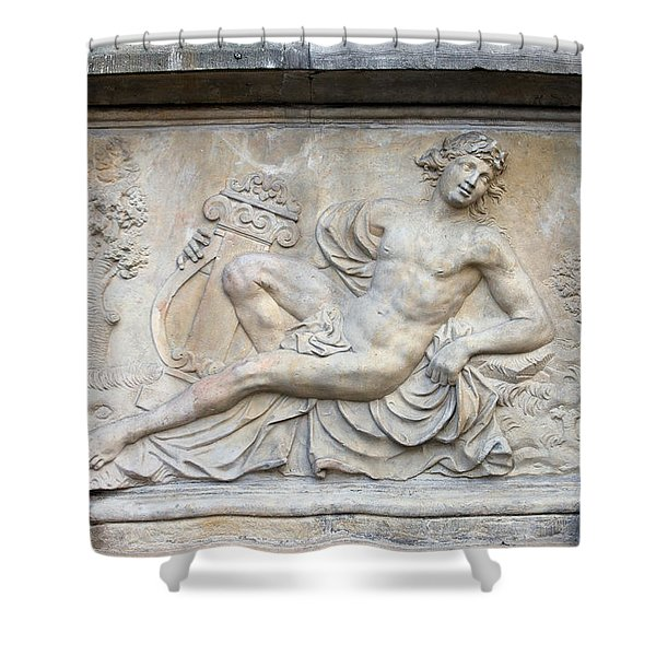 Apollo Relief In Gdansk Shower Curtain